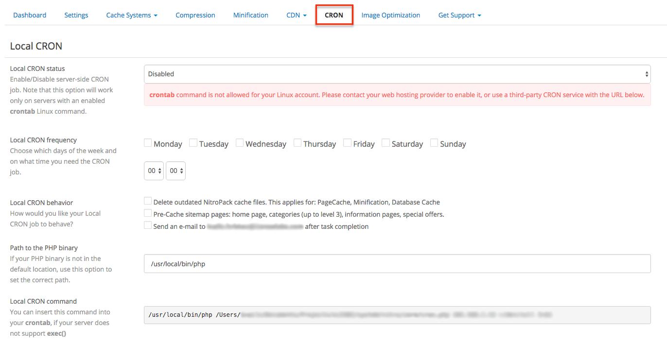 Documentation Nitropack Extension